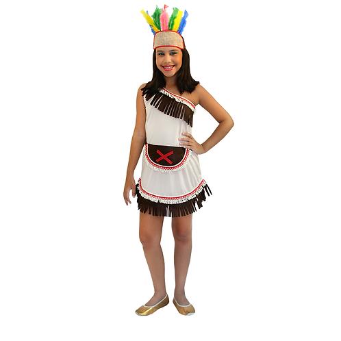 Fantasia India Vestido Infantil