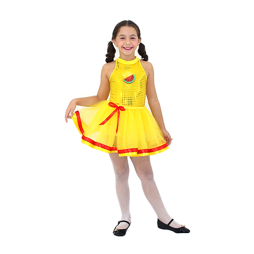 Fantasia Gulosinha Glamour infantil