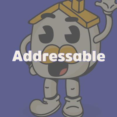 Addressable