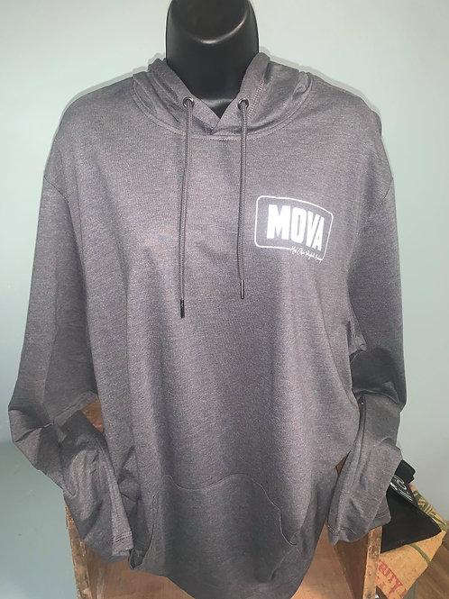 MOVA Gray Male Hoodie