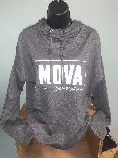 MOVA Gray Female Hoodie
