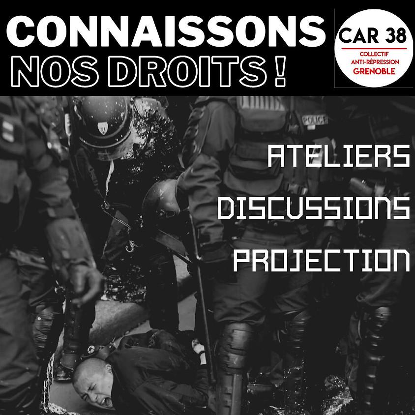 Formation anti-répression - Connaissons nos droits