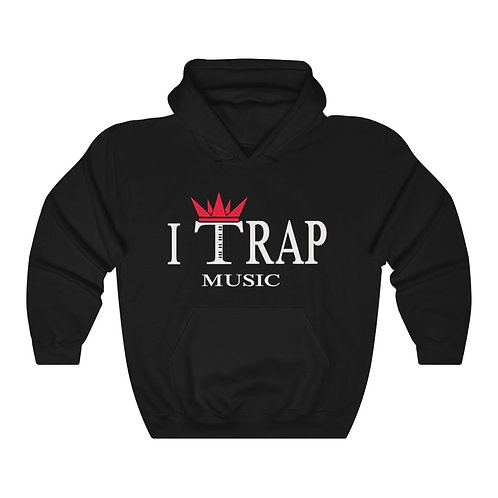 I Trap Music Hooded Sweatshirt