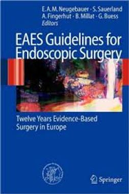 Livrs guidlines européennes EAES European Assocition for Endoscopic Surgery Dr. Veyrie