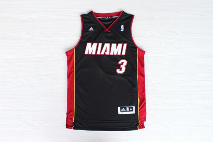 low priced cbbe5 167eb Dwayne Wade #3 Miami Heat Jersey