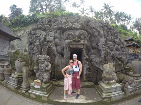 Visiting Temples in Bali