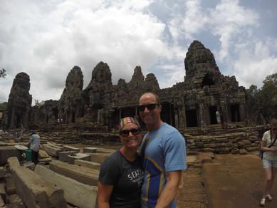 Visiting Angkor Wat and Angkor Tom in Cambodia