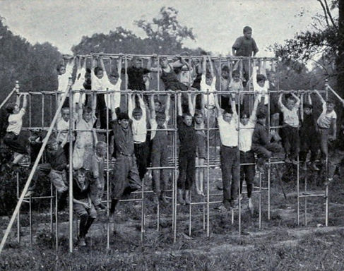 Old-playground-equipment-from-the-20s-Ju