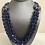 Thumbnail: Blue glass crystal set