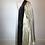 Thumbnail: Borgana blue/grey faux fur coat