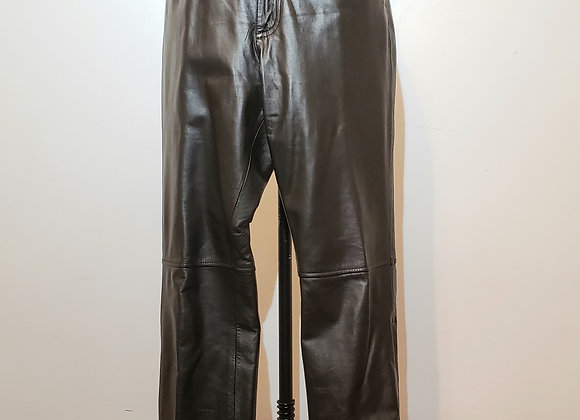 Harley Davidson black leather pant