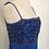 Thumbnail: Richilene blue beaded dress