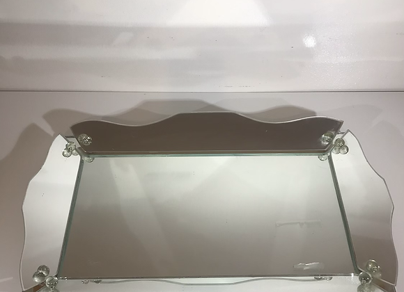 Vintage rectangle vanity tray