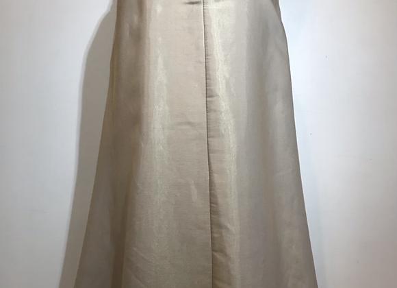 Onyx Nite by Wendye Chaitin gold long skirt