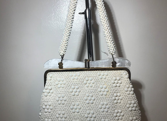 Hong Kong White Pearly Bag