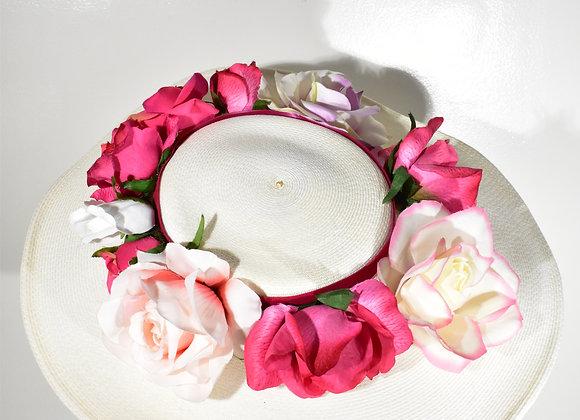 1950s Henry Margu Floral Hat