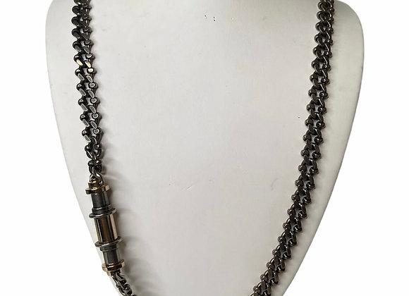 Designer Gunmetal Necklace