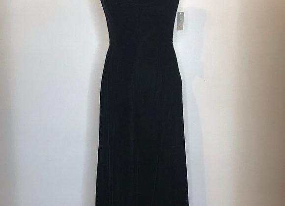 Rose Taft black velvet dress