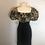 Thumbnail: Nipon Boutique black velvet dress
