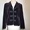 Thumbnail: Designer purple velvet 2pc suit