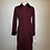 Thumbnail: Designer red knit dress
