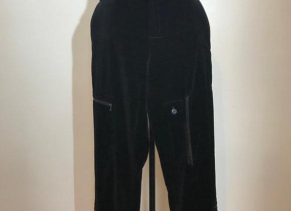 Ralph Lauren black velvet pant