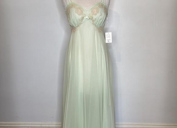 Vanity Fair pale green negligee