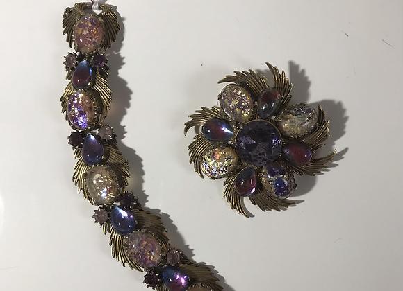 Florenza 2 pc purple set