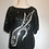 Thumbnail: FLB black sequin top