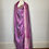 Thumbnail: Lavender metallic  Sari Dress