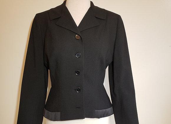 G. Fox & Co black Wool Jacket