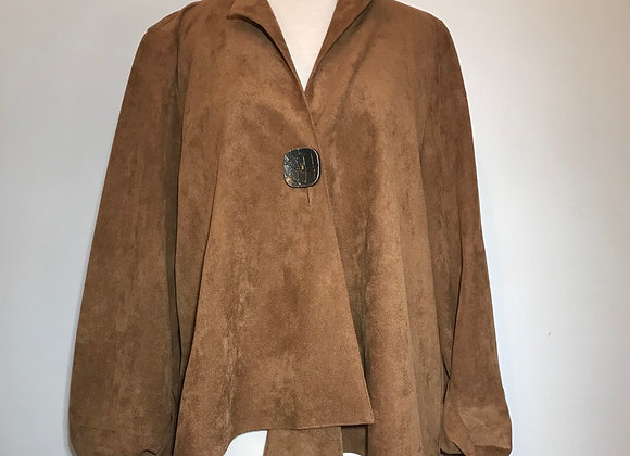 Cyrano brown suede jacket