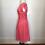 Thumbnail: 1950s peach chiffon dress