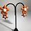 Thumbnail: Orange flower clips