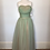 Thumbnail: 1940s pale green chiffon dress