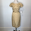 Thumbnail: Vintage gold cocktail dress