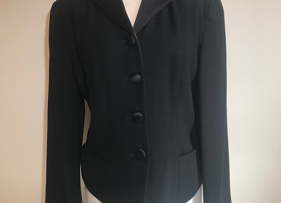 Barry Bricken black wool Jacket