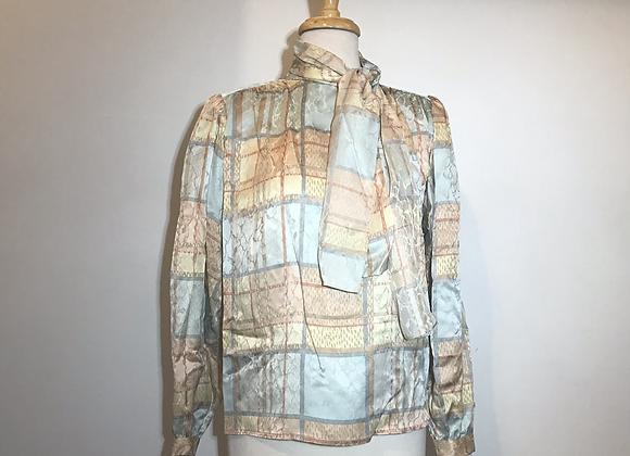Frankie Welch silk blouse