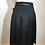 Thumbnail: Designer black kilt skirt