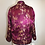Thumbnail: Reversible blue/magenta gold tapestry Chinese jacket