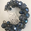 Thumbnail: Assorted AB  crystal faceted bracelet