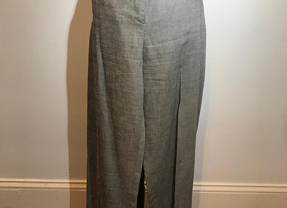 Max Mara grey linen pant