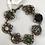 Thumbnail: Victorian link button bracelet