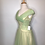 Thumbnail: 1940s yellow satin dress