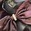 Thumbnail: Niki purple velvet silk dress