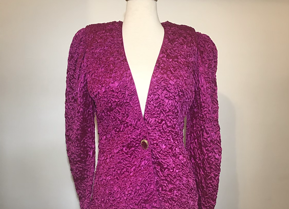 Farinae collection magenta jacket