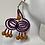 Thumbnail: Wood beaded earrings