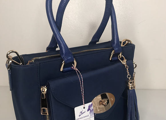 Carol Miller blue purse
