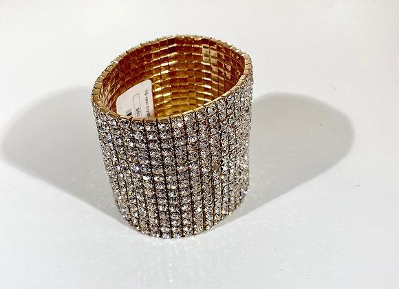Assorted crystal stretch bracelet