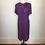 Thumbnail: Purple crepe dress